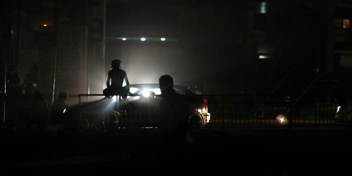 Corte masivo de energía afecta a Valparaíso