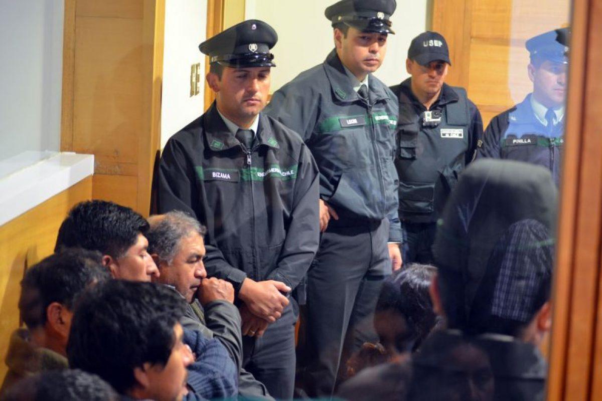 Formalización de imputados por el caso Luchsinger-Mackay Foto:Agencia Uno. Imagen Por: