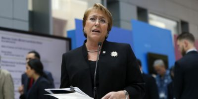 Bachelet por presentación de querella: