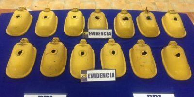 La Florida: dos detenidos dejó operativo de la PDI por robo de luminaria pública