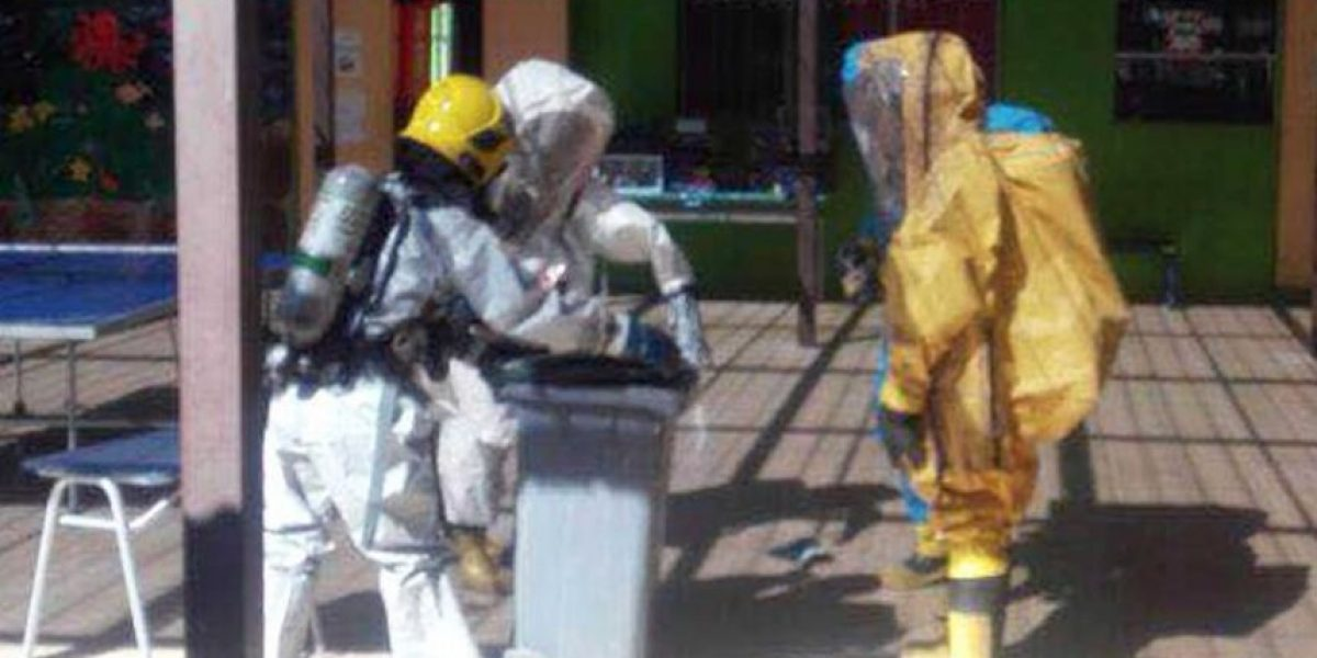 El experimento escolar que terminó en emergencia química en Pozo Almonte