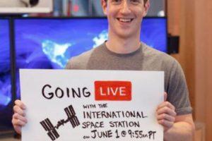 Mark hablará con astronautas de la NASA. Foto:Facebook/Mark Zuckerberg. Imagen Por: