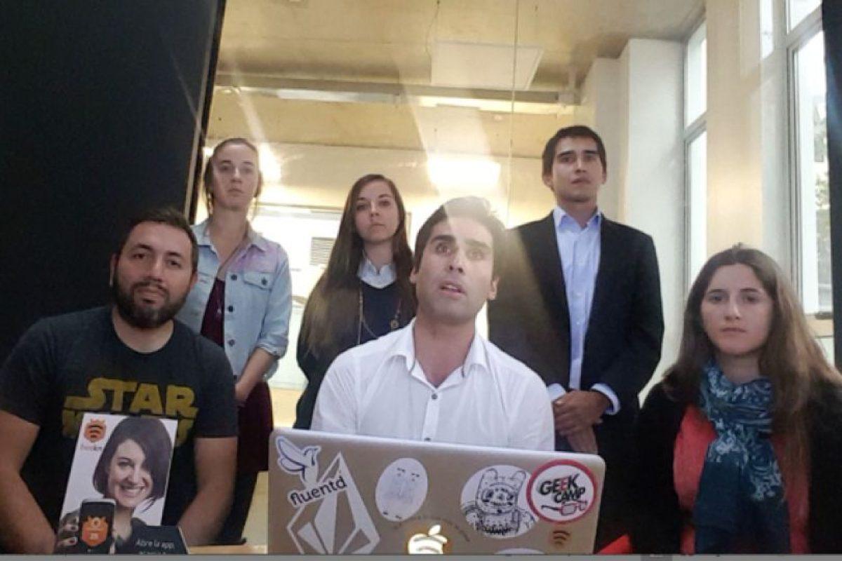 El equipo realizador de la aplicación. Foto:Gentileza. Imagen Por: