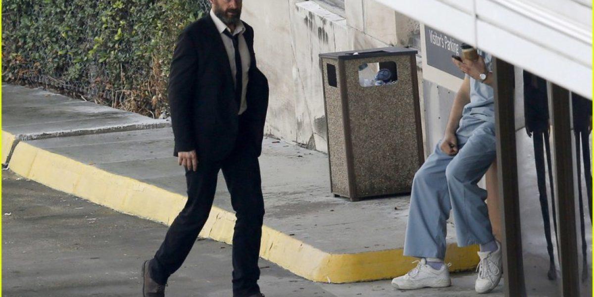 Fotos: Así se ve Hugh Jackman en los rodajes de
