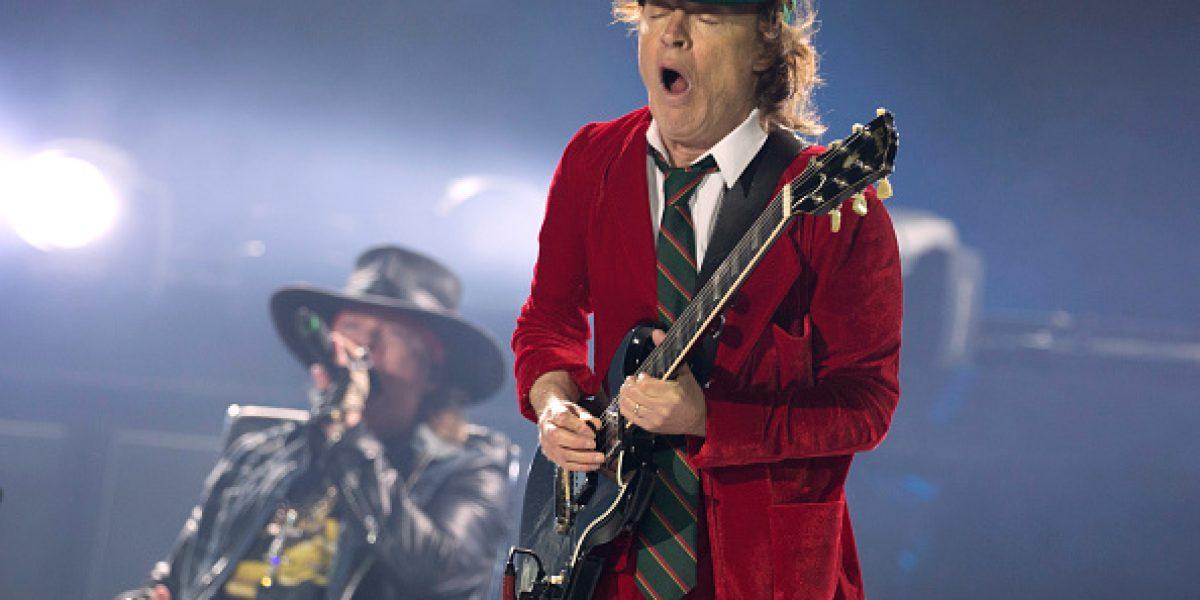 Axl Rose cantará para AC/DC en diez conciertos en Estados Unidos