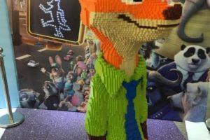 Así se veía la estatua terminada Foto:Weibo.com/Trush. Imagen Por: