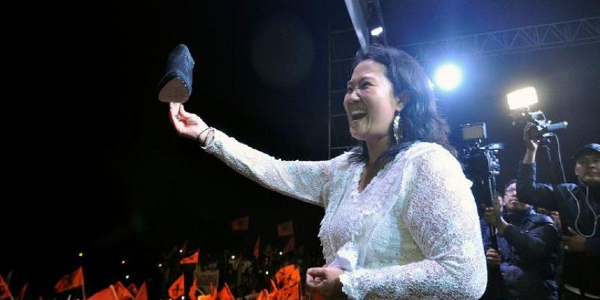 Keiko Fujimori y Kuczynski concluyen intensa campaña para los comicios