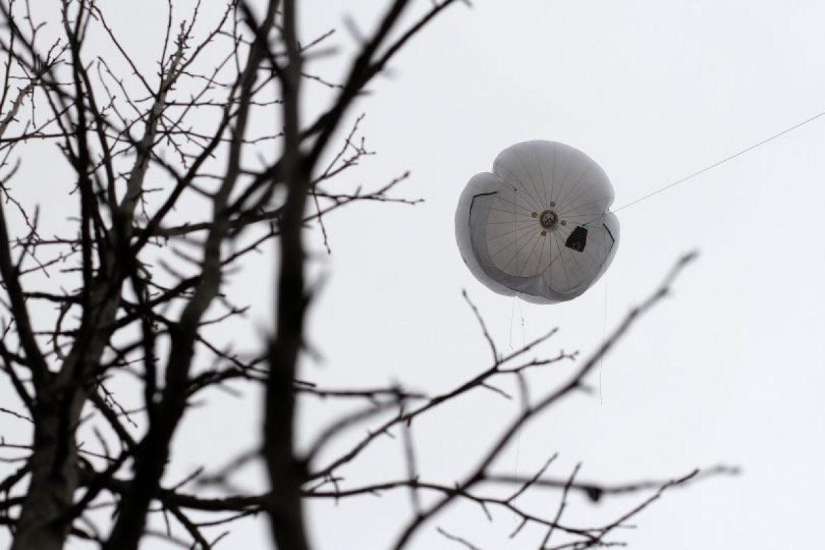 Los globos de vigilancia. Foto:Archivo Agencia Uno. Imagen Por: