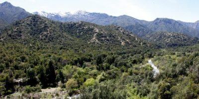 Río Clarillo será el primer Parque Nacional de la Región Metropolitana