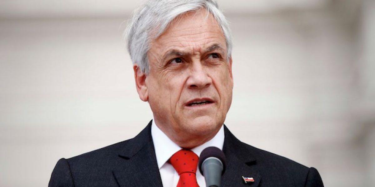 Sebastián Piñera se reunió con secretarios generales de partidos de Chile Vamos