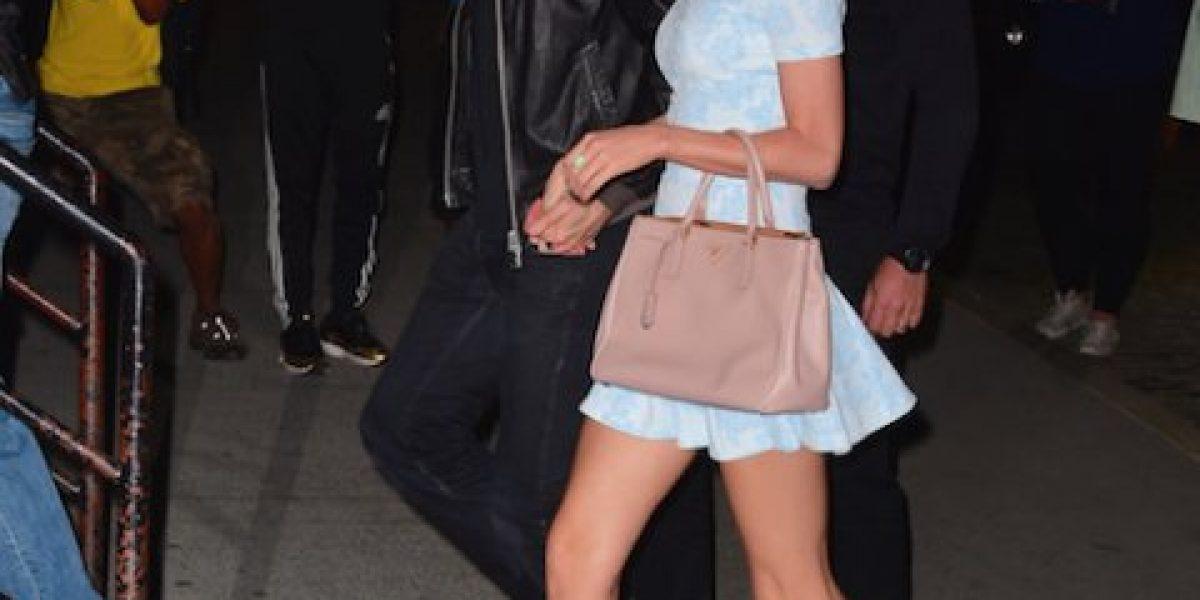 Así fue el último beso entre Taylor Swift y Calvin Harris