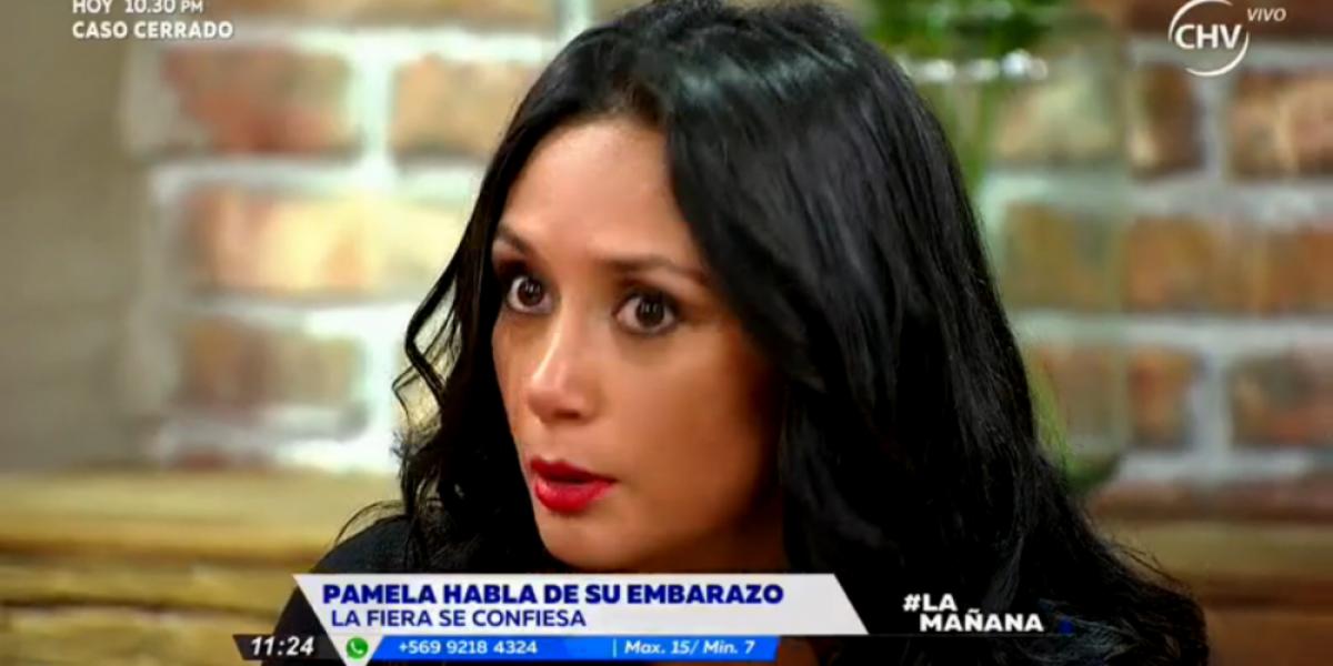 Pamela Díaz y filtración de su embarazo: