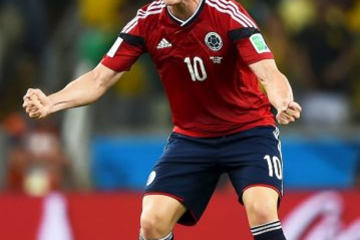 James Rodríguez (Colombia) 70 millones de euros Foto:Getty Images. Imagen Por:
