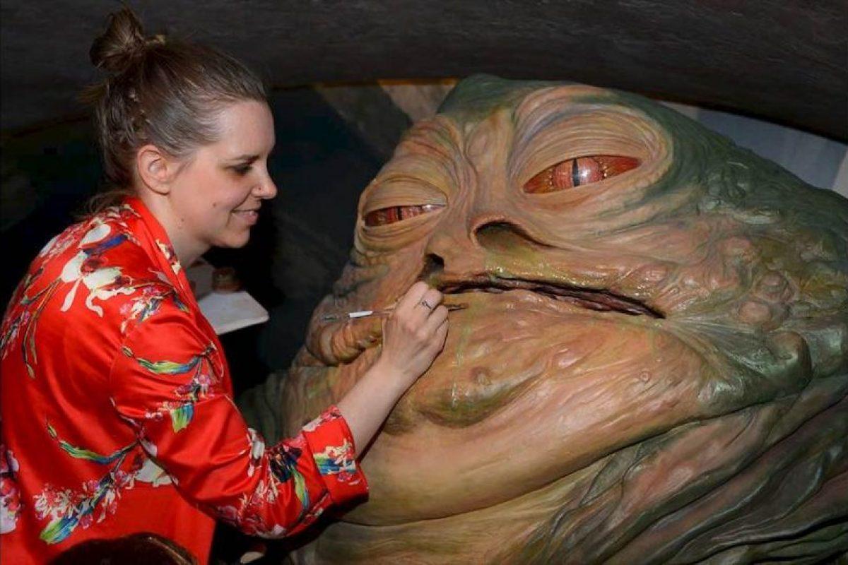 """Su apariencia asemeja a la del malvado """"Jabba the Hutt"""", personaje malvado de """"Star Wars"""" Foto:GETTY IMAGES. Imagen Por:"""