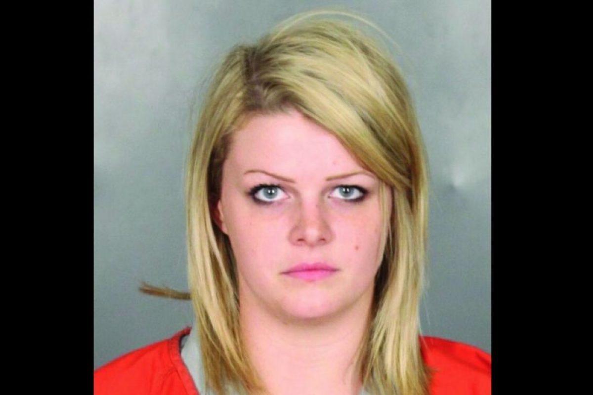Montana Joan Davis profesor de tecnología fue arrestada por tener una relación inapropiada con un estudiante. Foto:McLennan County Jail. Imagen Por: