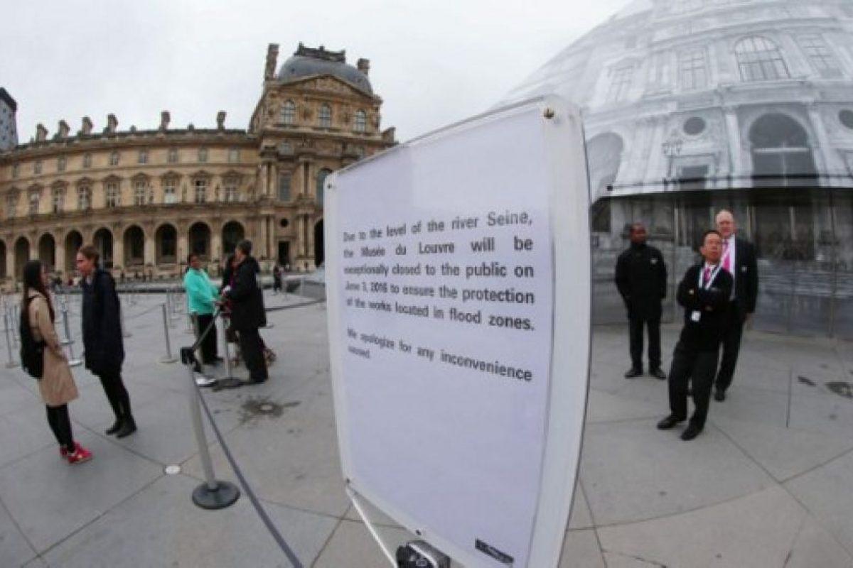 El Museo de Orsay se mantiene cerrado por la misma razón. Foto:AFP. Imagen Por:
