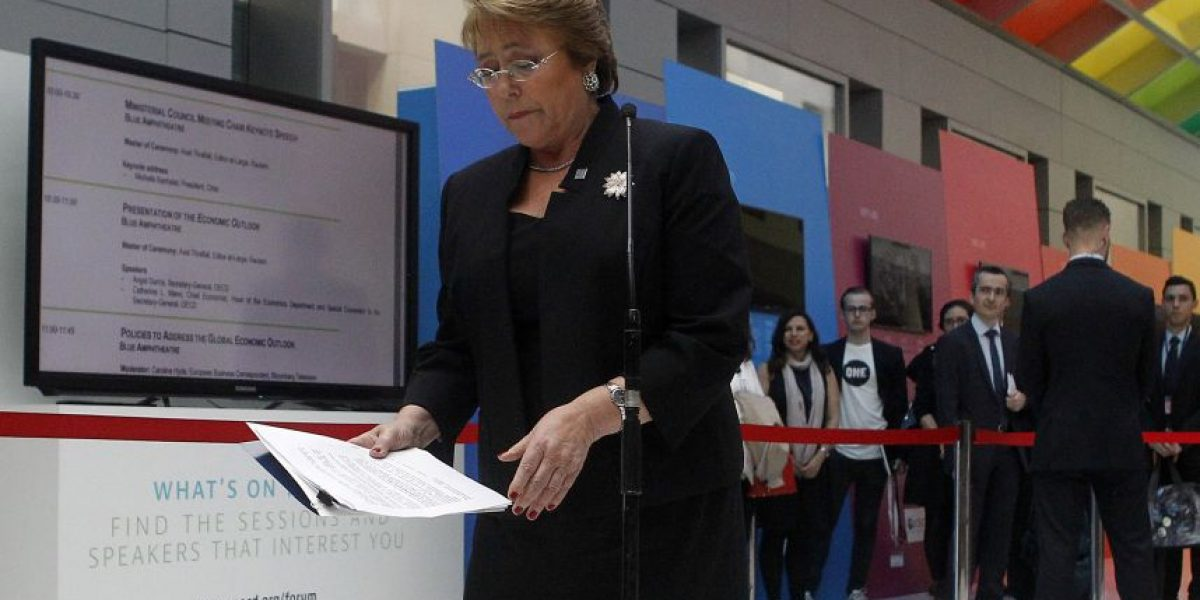 Sociedad Interamericana de Prensa acusa a Bachelet de