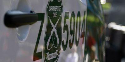 Registran momento en que bus de Fuerzas Especiales atropella a carabinero en Plaza de Armas