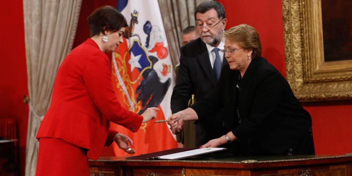 Bachelet nombra a Claudia Pascual como ministra de la Mujer y de la Equidad de Género