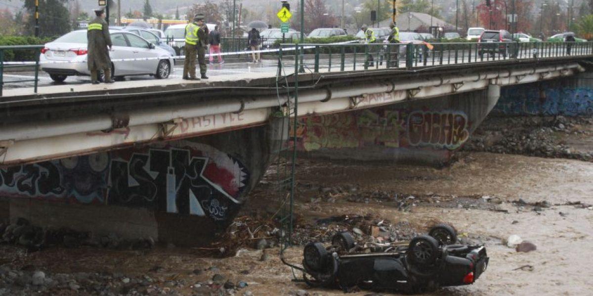 Vuelco en el caso: así fue la verdadera historia de la camioneta que cayó al río Mapocho