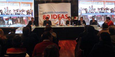 Cambios a la Constitución: lluvia no impidió que Chile Vamos iniciara su cabildo
