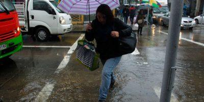 Sistema frontal: continuarán marejadas y precipitaciones en la zona central