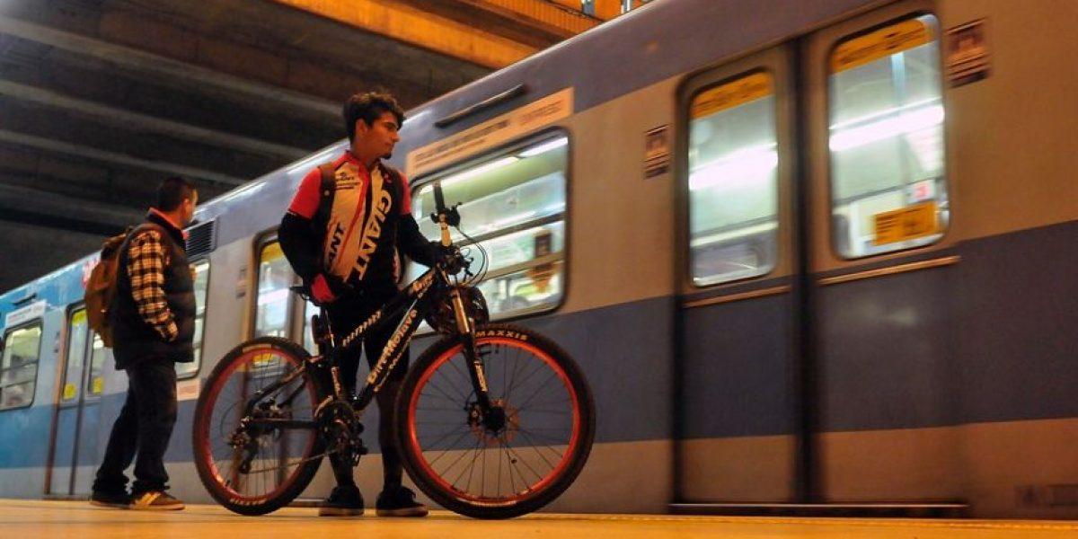 Metro de Santiago volverá a permitir el ingreso a la red en bicicleta
