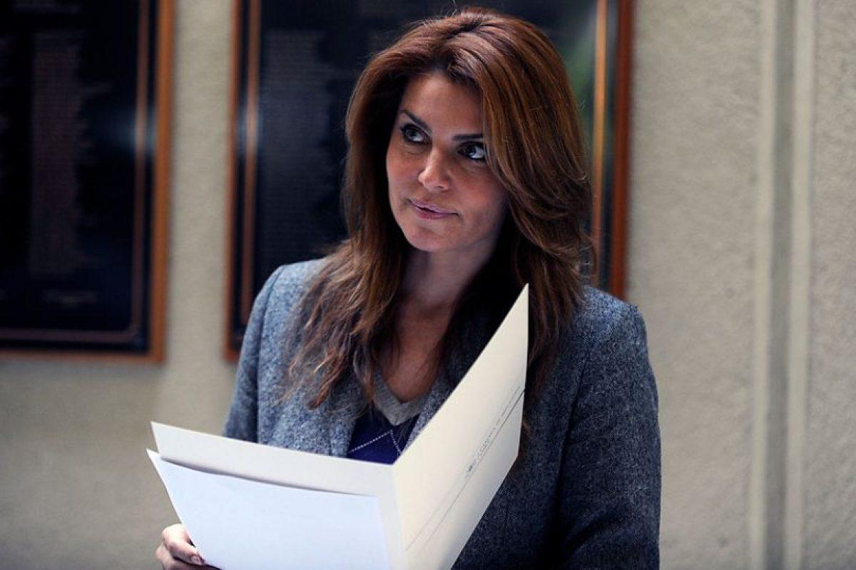 La diputada Andre Molina preside la comisión investigadora Cardones Polpaico de la Cámara. Foto:Agencia UNO / Archivo. Imagen Por: