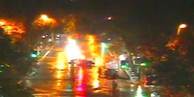 Providencia: bus del Transantiago y vehículo policial protagonizan accidente