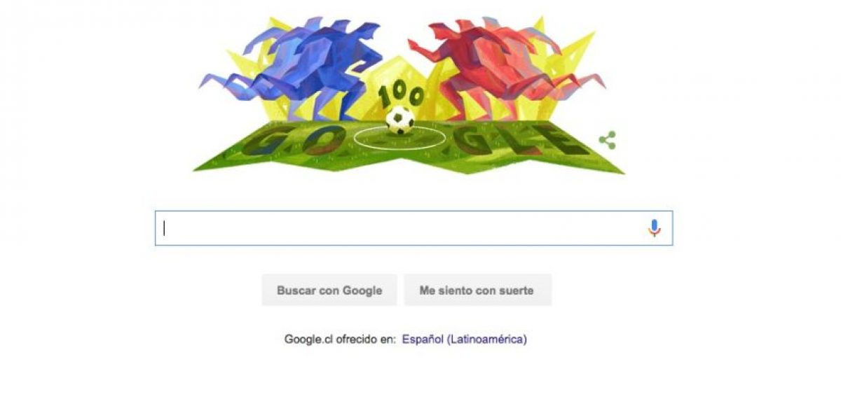 ¡Ya se juega! Google se suma a la Copa América Centenario con nuevo doodle