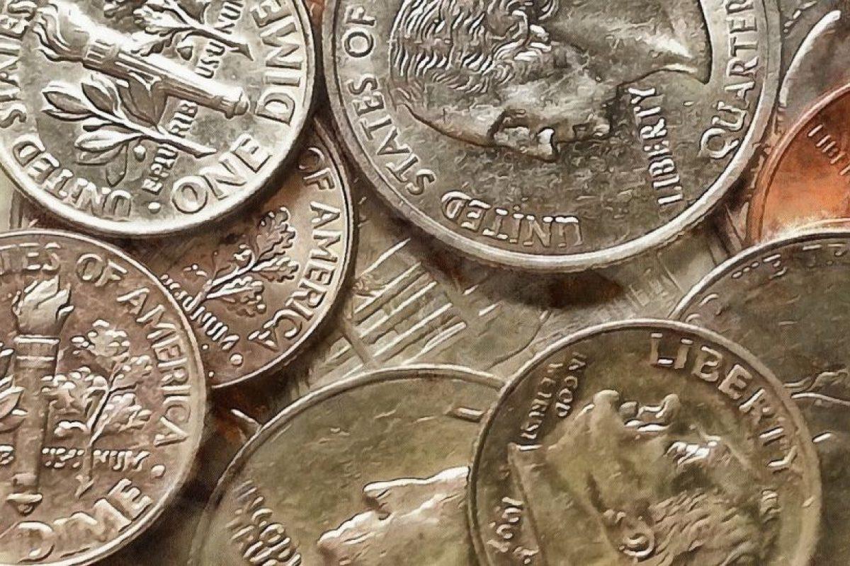 Hay cinco tipos de monedas, en ellas aparecen los presidentes Abraham Lincoln, Thomas Jefferson, Franklin D. Roosevelt, George Washington y John F. Kennedy. Foto:stock-free.org. Imagen Por: