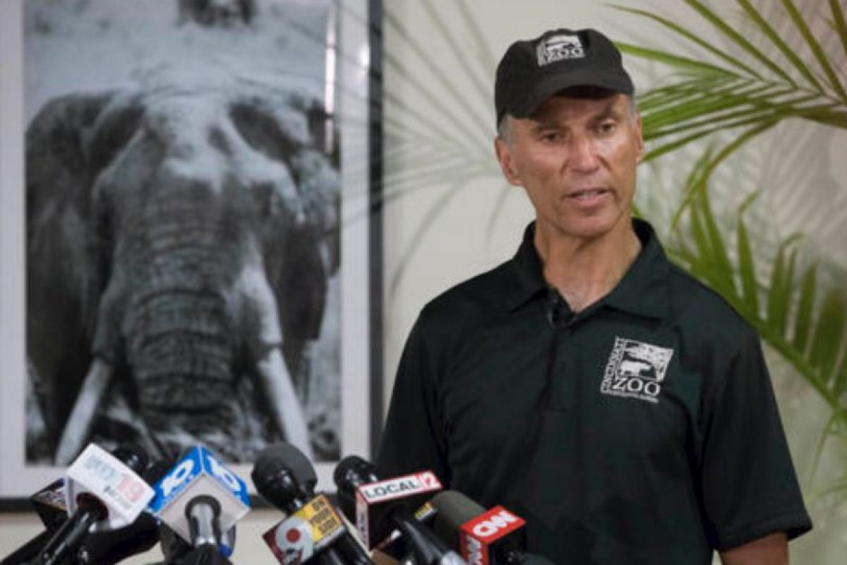 El zoológico se defendió. Foto:vía AP. Imagen Por: