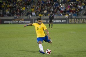 Brasil llega más que cuestionado a la Copa América Centenario y no tendrá a su equipo estelar en Estados Unidos Foto:AFP. Imagen Por: