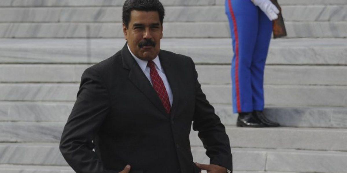 Maduro denuncia en Cuba