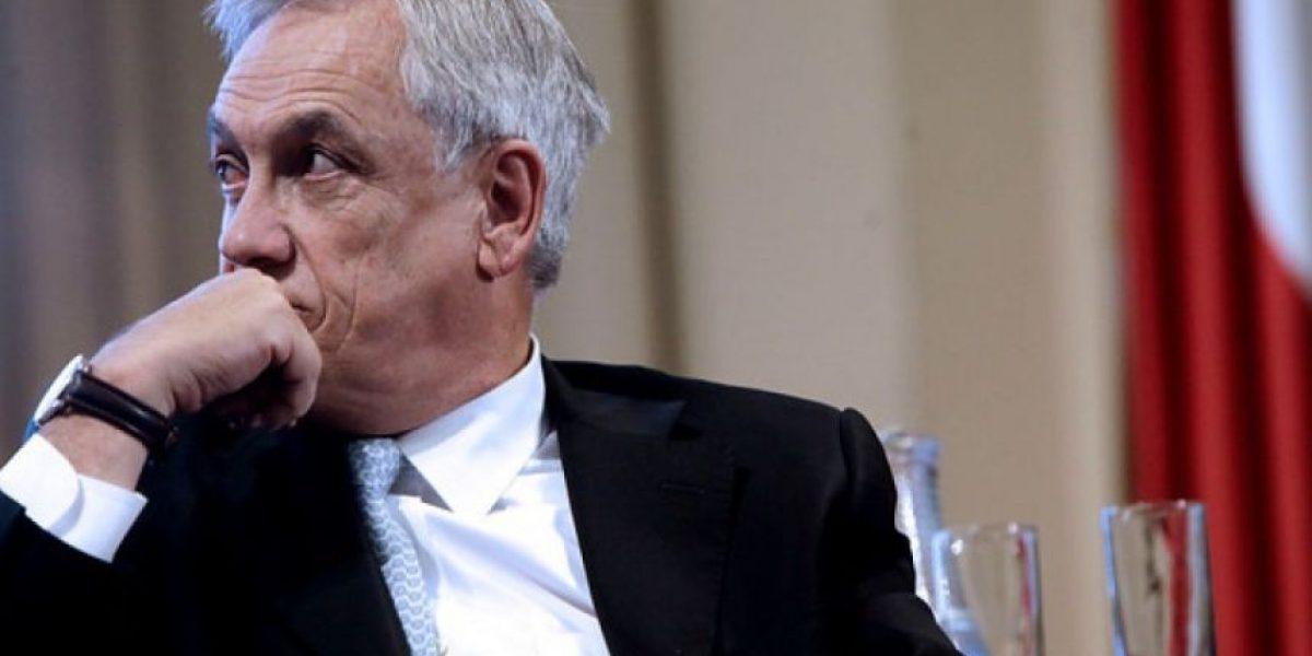 Piñera critica querella de Bachelet a Qué Pasa: