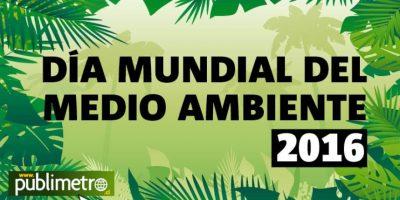 Infografía: Día Mundial del Medio Ambiente 2016