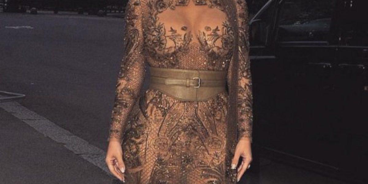 Kim Kardashian reveló su nuevo tamaño de cintura