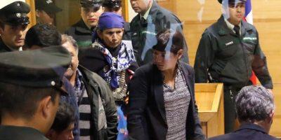 Machi Linconao volvió a la cárcel de mujeres de Temuco