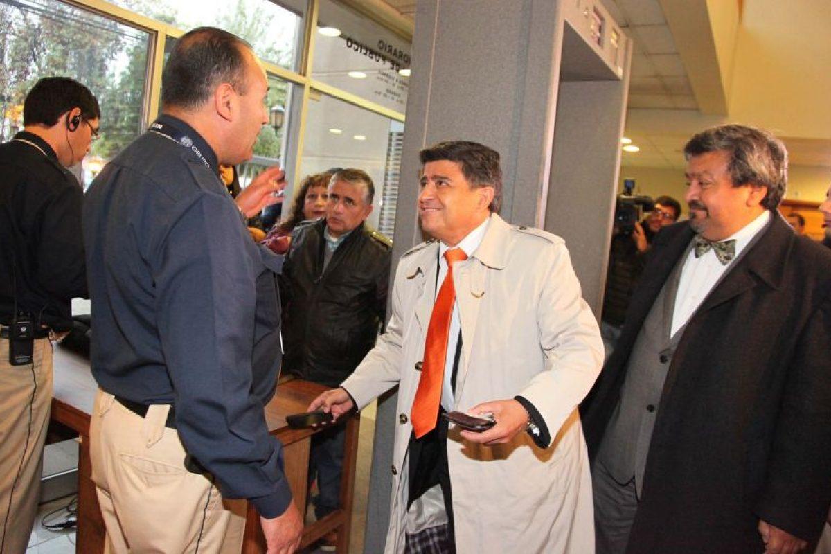 Juan Díaz (izquierda) y Carlos Astorga, a la derecha de la imagen. Foto:Archivo Agencia Uno. Imagen Por: