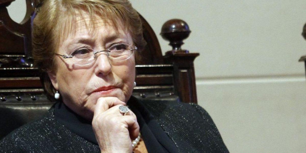 Presidenta Bachelet y publicación de revista Qué Pasa: