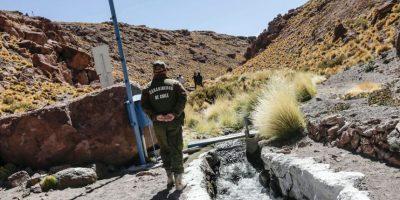 Así es el río Silala según los mapas de Chile y Bolivia