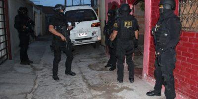 Tras allanamiento la PDI detuvo a cuatro mujeres por tráfico en Arica