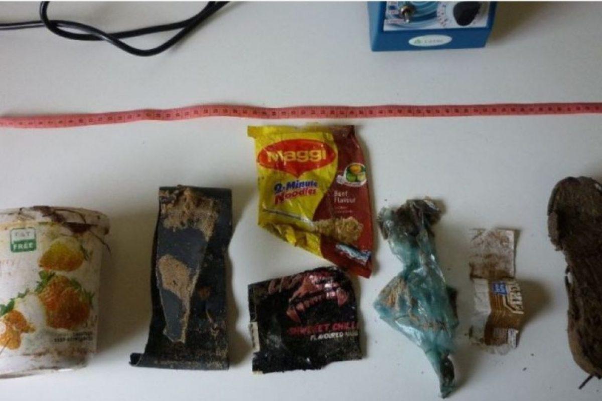 Había todo tipo de envoltorios Foto:Facebook.com/OrcaPlett. Imagen Por: