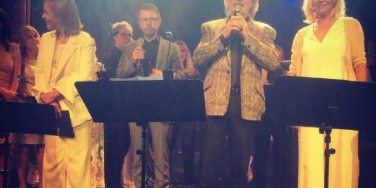 ABBA regresó a los escenarios para especial celebración