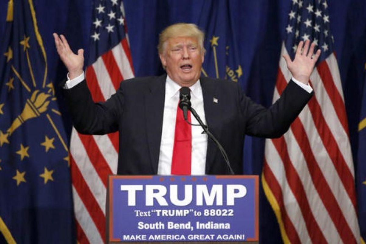 Donald Trump es el favorito a las elecciones presidenciales del Partido Republicano. Foto:AP. Imagen Por:
