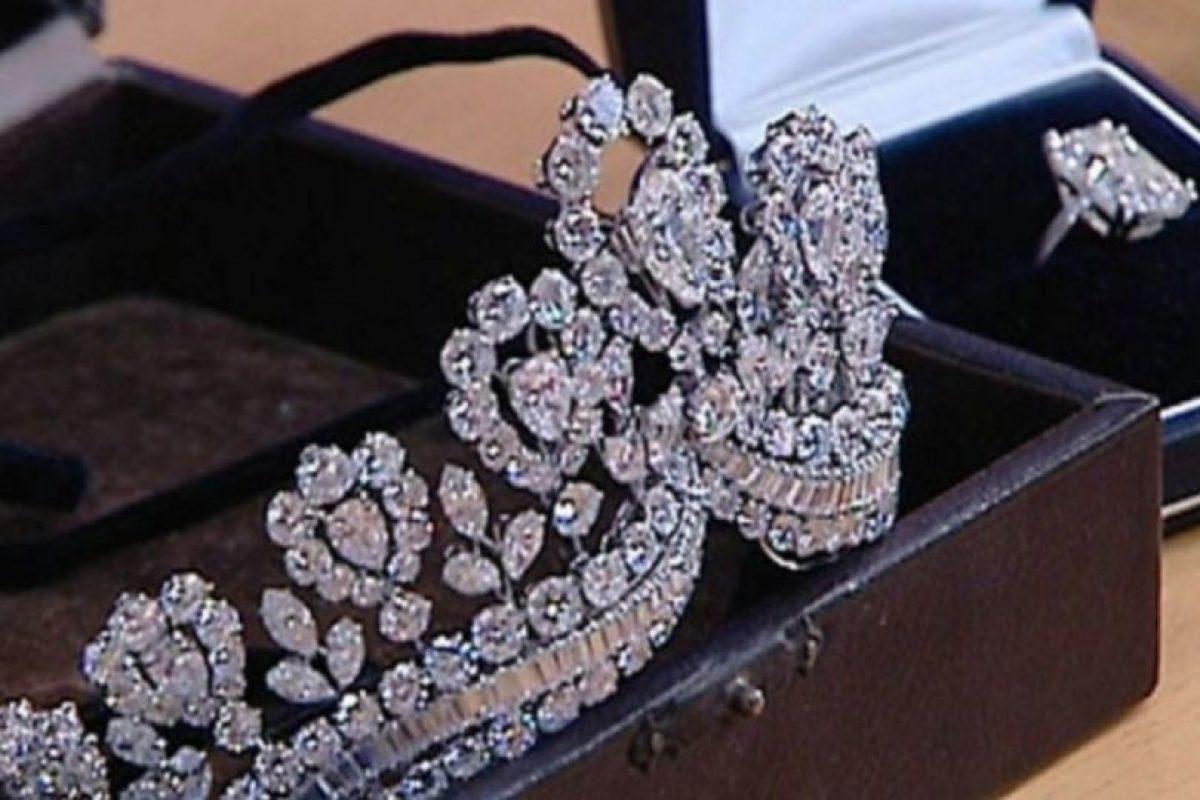 También las joyas de Eva Perón. Foto:vía Getty Images. Imagen Por: