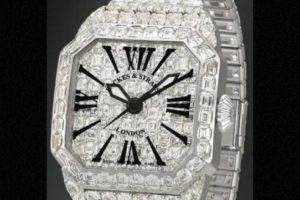 Tenía relojes incrustados con diamantes. Foto:vía Cartier. Imagen Por: