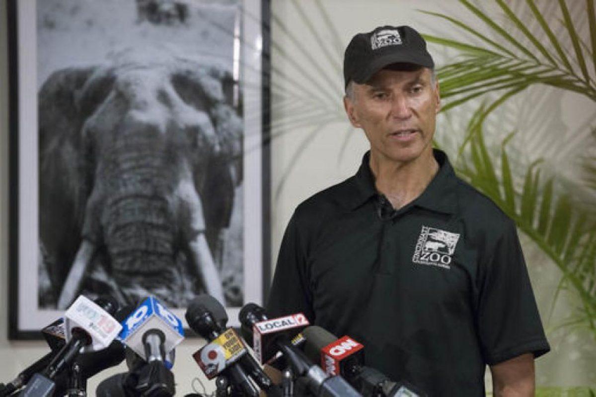 A pesar de las críticas Thane Maynard, director del zoológico, afirmó que sacrificar al animal fue la mejor opción. Foto:AP. Imagen Por: