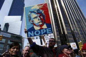 El magnate no tiene más rivales que los precandidatos demócratas. Foto:AFP. Imagen Por: