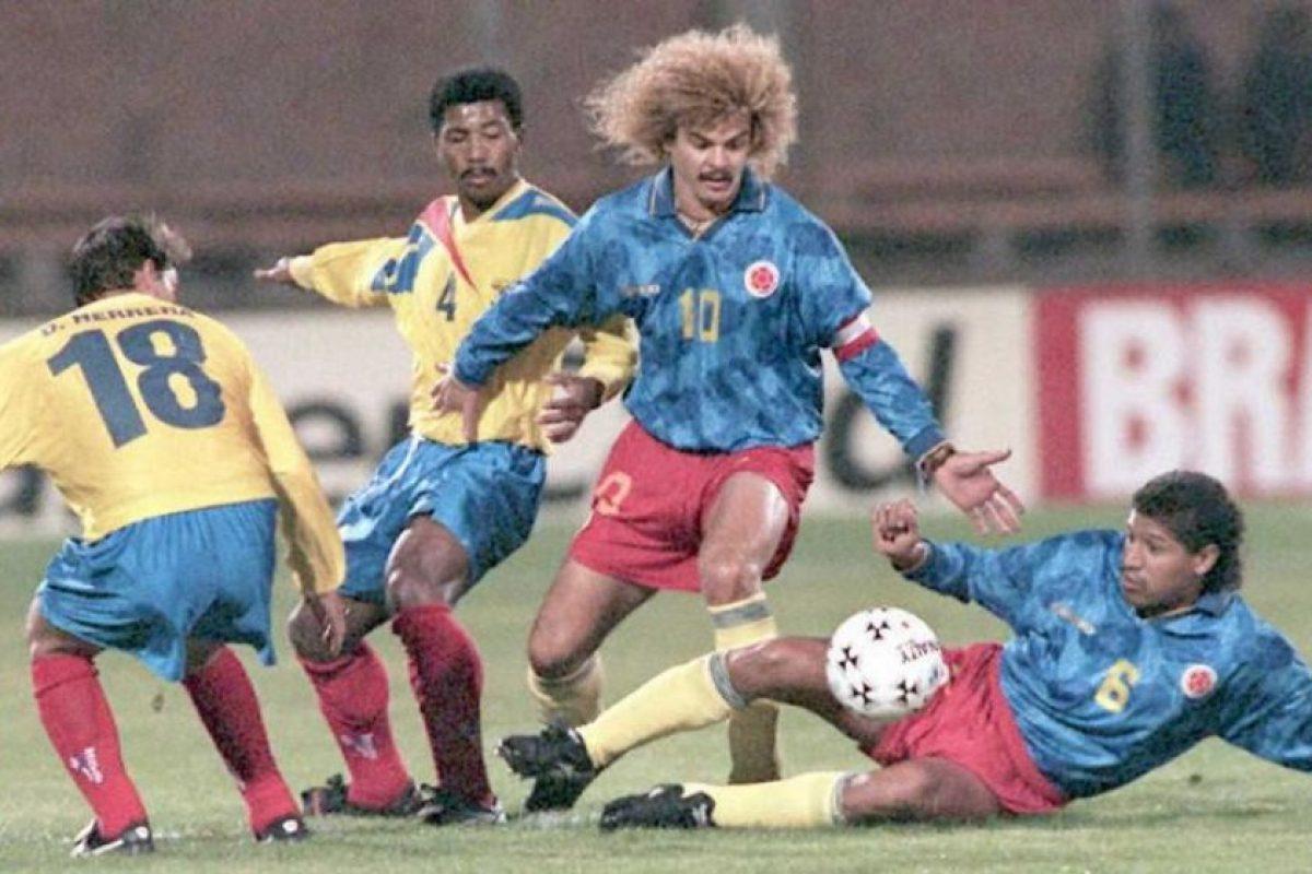 Carlos Valderrama es una de las figuras sudamericanas que nunca ha ganado el torneo Foto:AFP. Imagen Por: